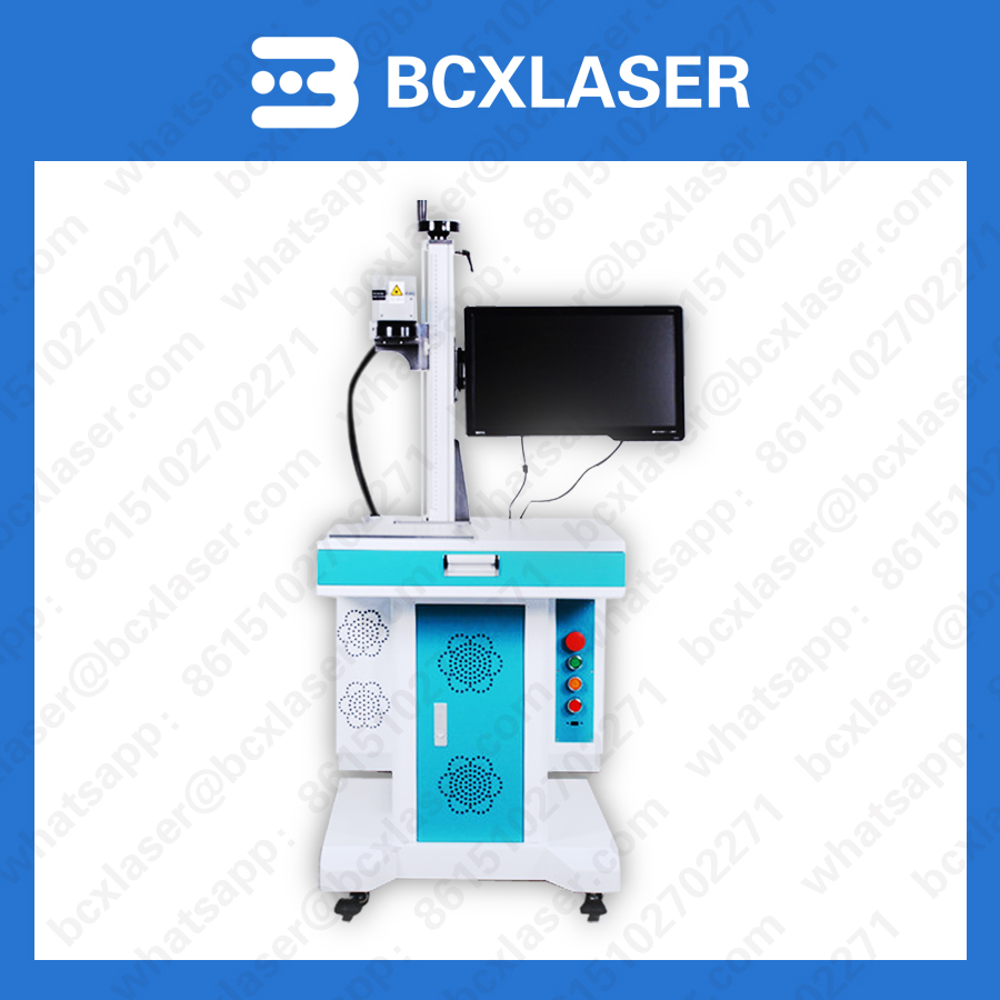 Automatic delivery induction marking metal maker fiber laser marking machine price in discount