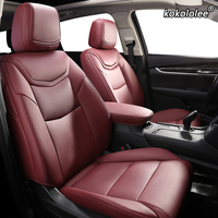 kokololee Custom Leather car seat cover For NISSAN X Trail Qashqai SYLPHY Geniss LIVINA March Tiida Teana Automobiles Seat Cover