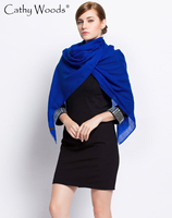 Echarpe Luxury Brand Scarfs 2016 Female Solid Color Design Cashmere Scarf Shawl Pashmina Women Wrap Stole