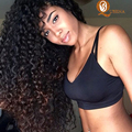 brazilian Kinky Curly Virgin Hair 4 bundle deals 7a Star Style Hair Brazilian Virgin Hair cheap brazilian hair weave bundles