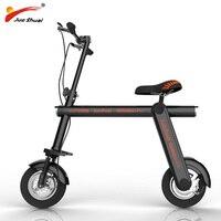 10 дюймов взрослый Электрический скутер 48 В в 500 Вт Электрический Мощный мотор скутер электрический самокат складной mi ni скутер