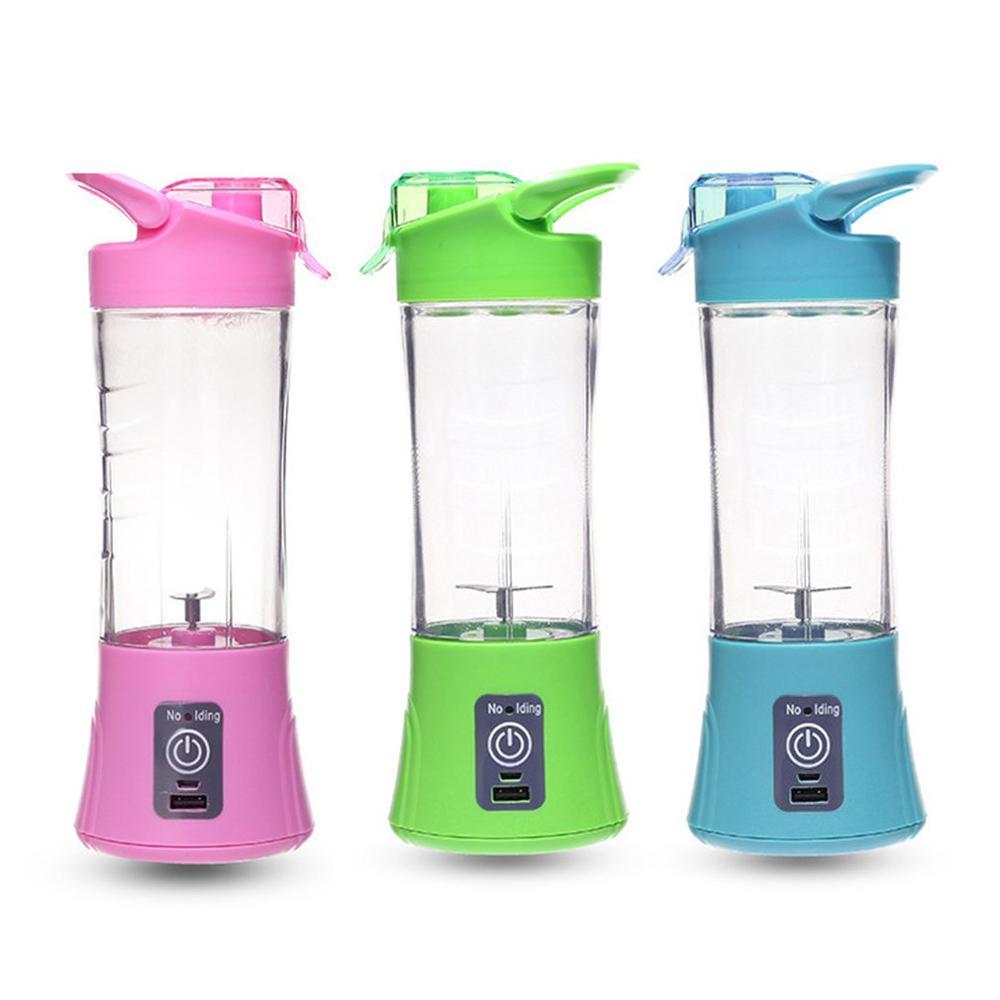 Compact Size USB Rechargeable Juicer Bottle Household Travel Use Handheld Fruit Juicer Machine Blender Bottle in Juicers from Home Appliances