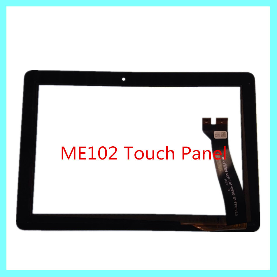 10'' Tablet Touch Panel For ASUS Memo Pad k00f 10 ME102 ME102A Touch Screen Digitizer Glass Lens Replacement black free shipping tablet original for asus memo pad 8 me181c me181 k011 076c3 0807b black touch screen panel glass digitizer