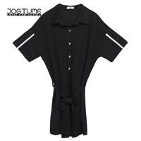 2018 Summer Black Elegant Jumpsuits for Women Retro Print Plus Size Party Romper Playsuits Womens Jumpsuit Shorts Office Work