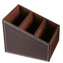 PU Leather Storage Box for Home Decor