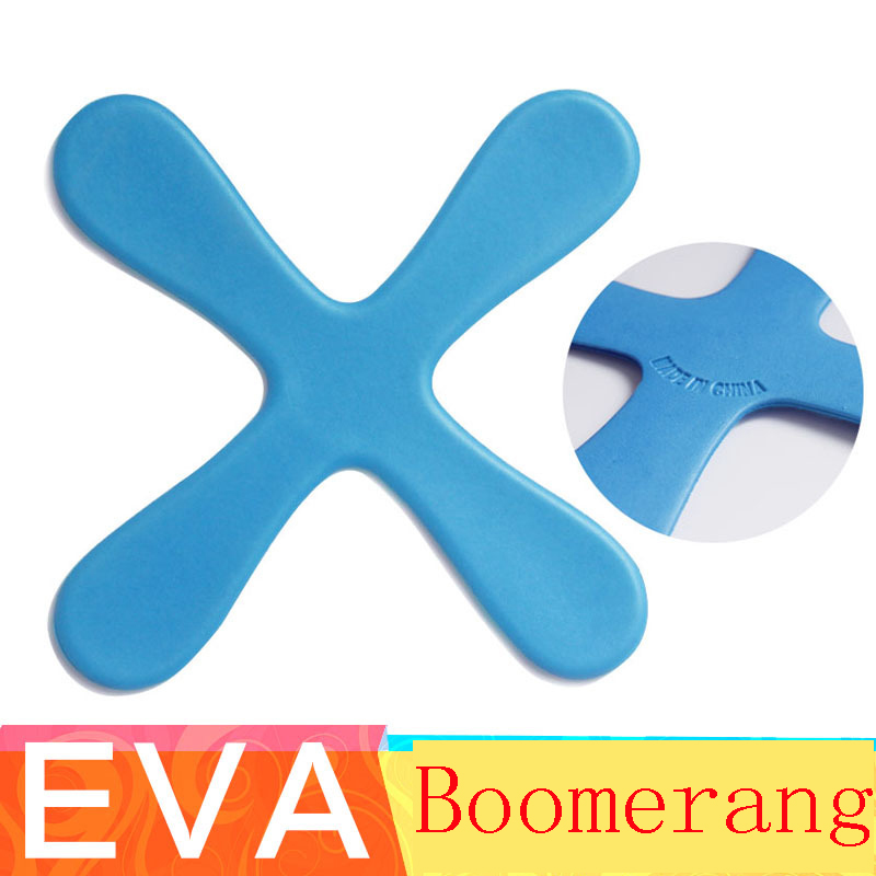 Outdoor Sport Boomerang Security Soft Material Toy Amusing font b Physical b font Exercise Parent child
