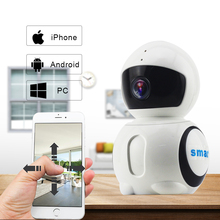 Wireless Smart Mini Camera with Night Vision and Motion Detection