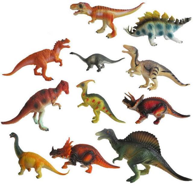 Jouets Piècesensemble Cm 12 Dinosaure Un Animal 15 Modèle Grand 18 rBodxCe