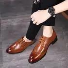 Мужские оксфорды; официальные повседневные ботинки; мужские летние повседневные туфли на шнуровке; красные оксфорды; осенние свадебные туф...