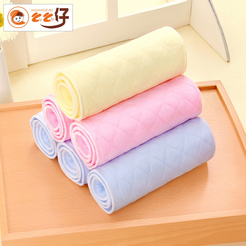 New 10PCS 44*17CM Cotton Washable Baby Nappy Waterproof Reusable Baby Diapers For 0-12 Months