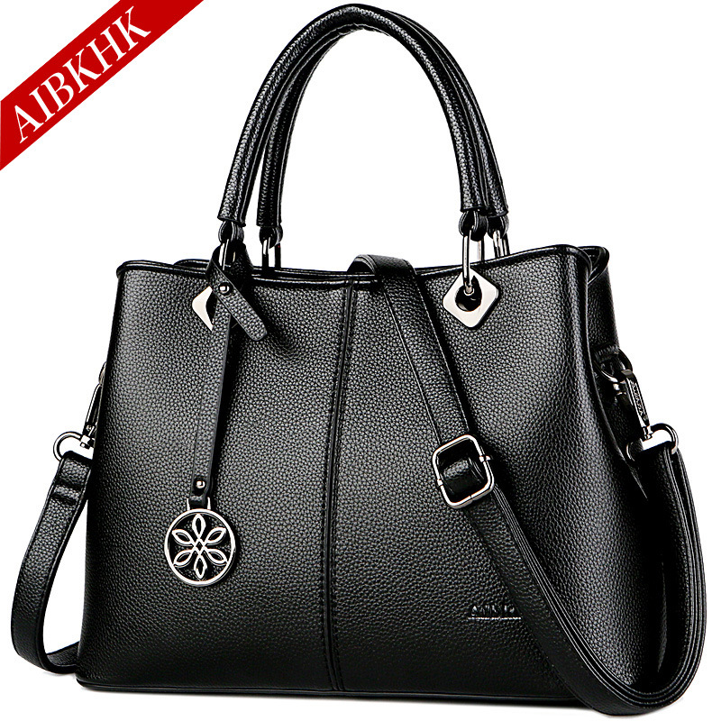 Luxury Designer Handbags Famous Brand Top-handle Bag Shoulder Crossbody Bags for Women 2018 Fashion Leather Tote Ladies Hand Bag fashion women handbags famous brand luxury designer shoulder bag ladies large tote high quality black pu leather top handle bags