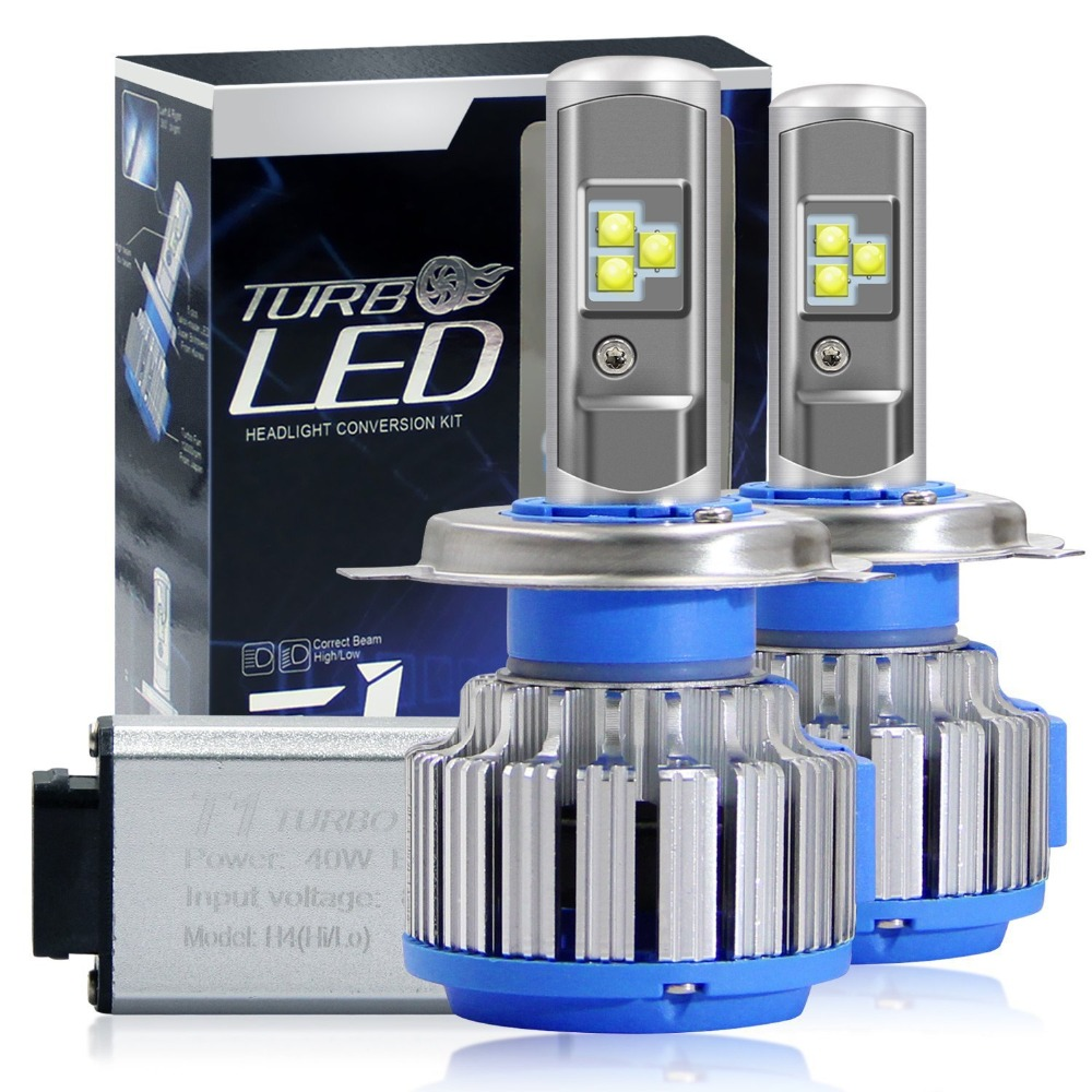 2014 Acura Rdx Turbo: Universal Car Headlight LED Bulb 9006 H8 H4 For CADILLAC