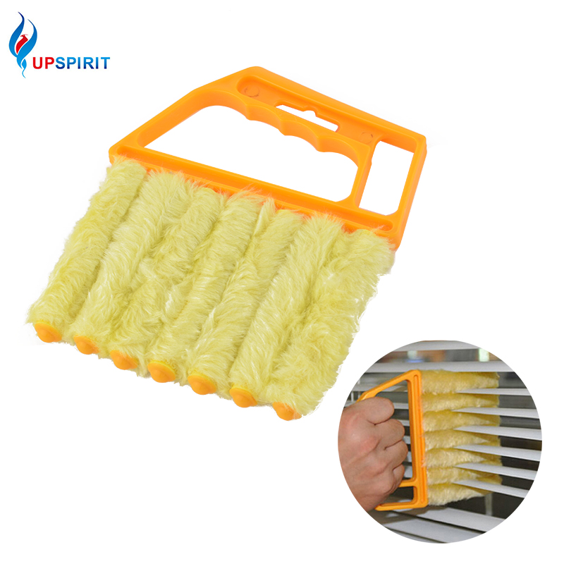 Upspirit Microfiber Cleaning Window Blinds Brush Air Conditioning Duster Clean Brush Hand Held Households Cleaning Tools