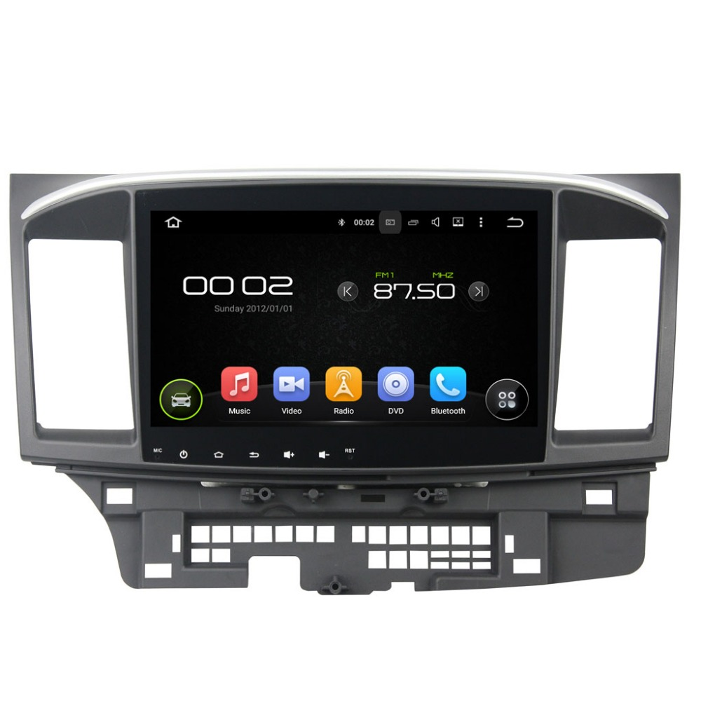 Android 5.1 Quad core 10.1 inch 1024*600 Car Video GPS stereo radio for Mitsubishi Lancer 2015 WIFI bluetooth Mirror Link