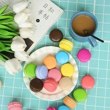 Çoklu renkler Macarons simüle pişirme yapay ekmek ins fotoğraf sahne DIY dekorasyon fotoğraf resim çekme aksesuarları