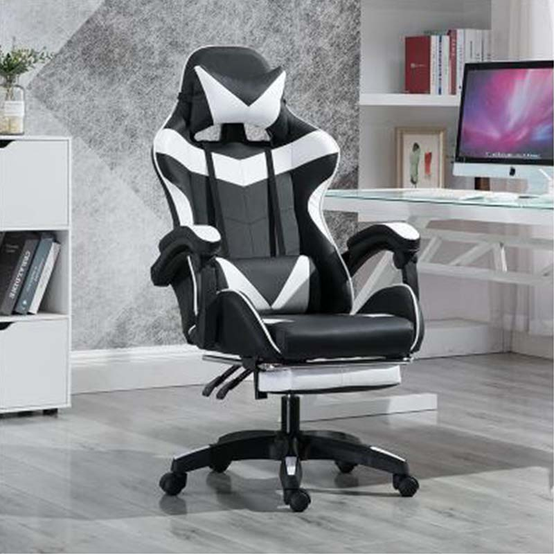 WCG Silla de juegos ergonómica Silla de ordenador ancla hogar café juego asientos competitivos envío gratis