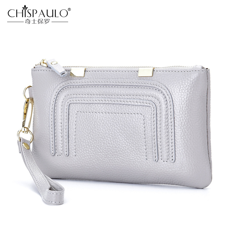 2017 Women Genuine Leather Wallets High Quality Zipper Ladies Coin Purse Female Clutch Bag Money Credit Card Holder Phone Bags new arrival genuine leather wallets women card holders purse 2017 sexy ladies clutch money bag leather handbags