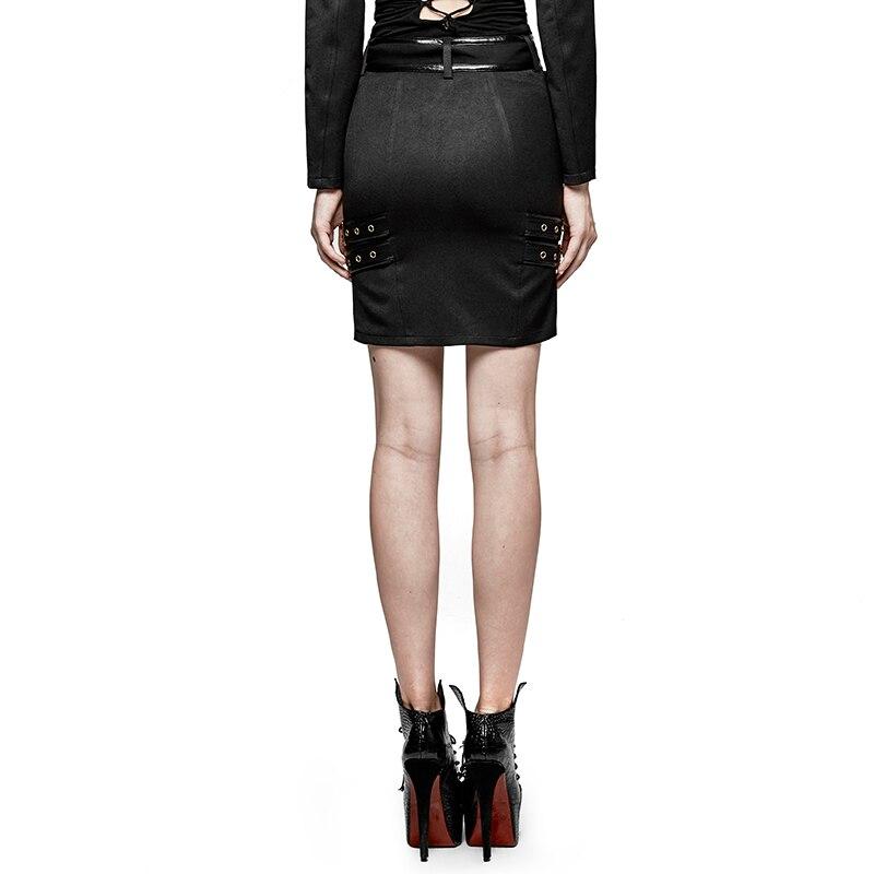 Taille Militaire Uniforme Steampunk Fête Jupe Haute Gothique Style Mode Dame Femme qwfzfC