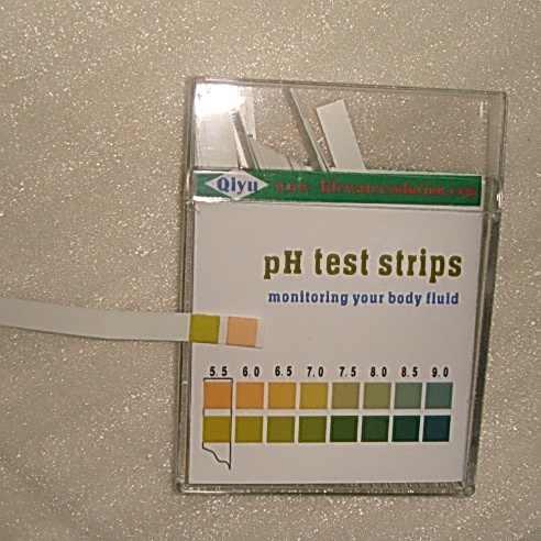 Тестер воды pH/pH Тест-Полоски воды 5,5-9,0