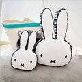 Новые приходят cut кролик подушка для детей украшения комнаты кролик плюшевые кукла кролик подушки и подушки подарок для девушки и лучший друг