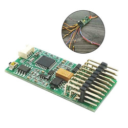 1PC 3.5~12V Sound Model TBS Mini Programmable Sound and Light Control Unit for RC Model Car Parts Circuits