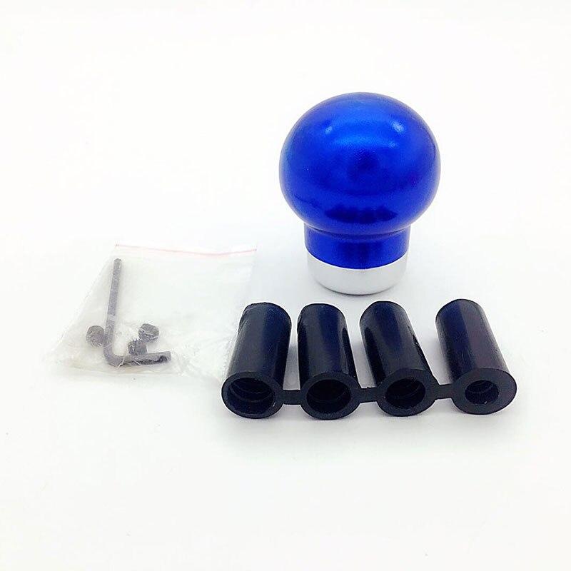 Gear head auto shift knob Metal material car Blue Gear Shift Knob general gear stick head refires shift lever HR-2312-L