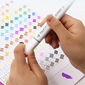 Image 2 - TOUCHNEW Alcohol Markers 30/40/60/80/168 Colors Dual Head Sketch Markers Brush Pen Set For Drawing Manga Design Art Markers