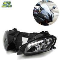 Pour 08-15 Yamaha YZF-R6 YZFR6 YZF R6 moto phare avant phare lampe phare assemblage 2008 2009-2015