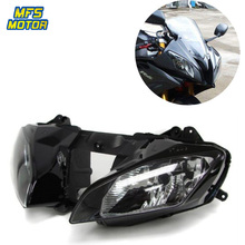 For 08-15 Yamaha YZF-R6 YZFR6 YZF R6 Motorcycle Front Headlight Head Light Lamp Headlamp Assembly 2008 2009-2015