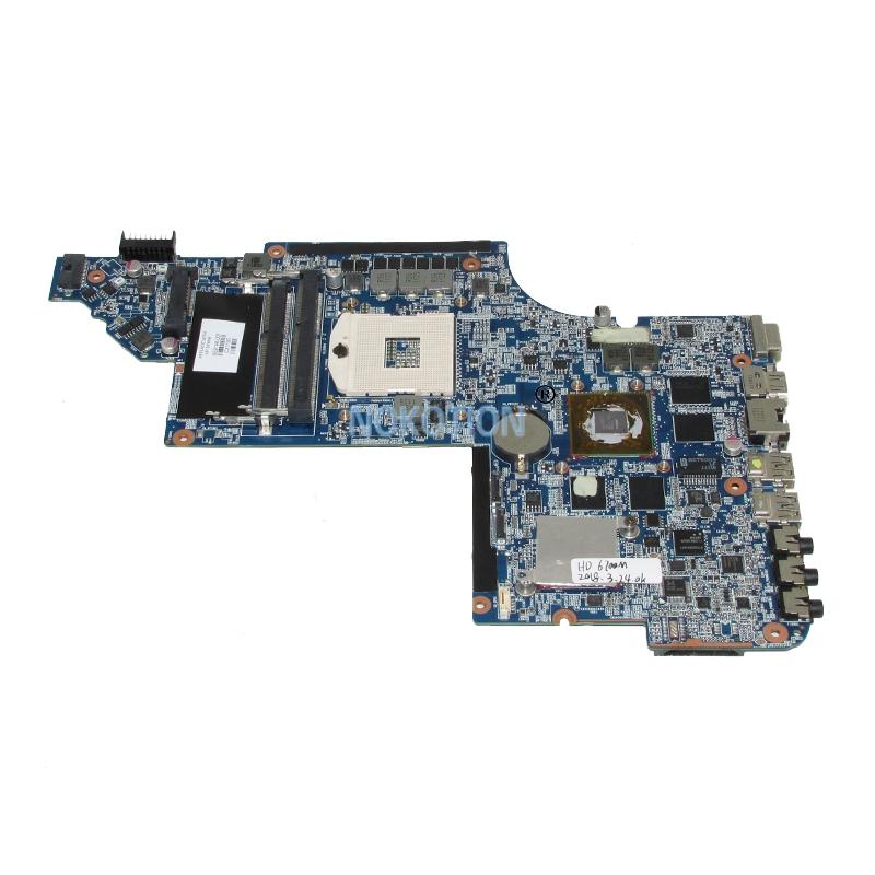 NOKOTION 659148-001 laptop motherboard for HP Pavilion DV6 DV6-6000 HD6770 1GB Main board full tested 509450 001 motherboard for hp pavilion dv6 daut1amb6d0 tested good