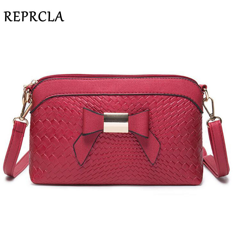 New Fashion Bowknot Handbags Brand Designer Women Messenger Bags Crossbody High Quality PU Shoulder Bag Clutch Purse bailar fashion women shoulder handbags messenger bags button rivets totes high quality pu leather crossbody famous brand bag