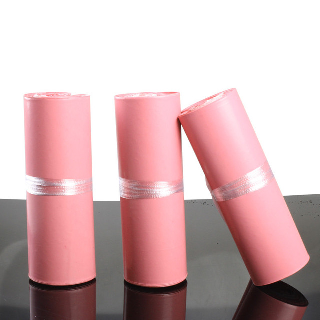 Enveloppe couleur rose multi-taille 100 pièces | Sac postal/sac de courrier Express