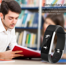 Torntisc ID115HR PLUS Sports Heart Rate Fitness Tracker Smart Bracelet for IOS Android