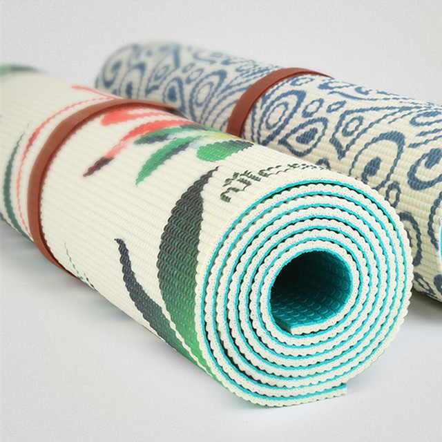 ECO PVC – Double Sided Printed Yoga Mat – 5 mm