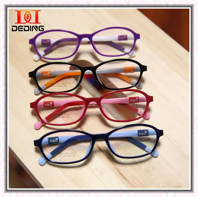 Дети силиконовые амблиопия близорукость очки кадр легкая non-slip оптических стекол мальчиков девочек Armacoes де óculos DD0268