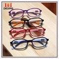 Crianças ambliopia miopia óculos quadro leve antiderrapante de Silicone óculos de meninos meninas armaçoes de óculos DD0268