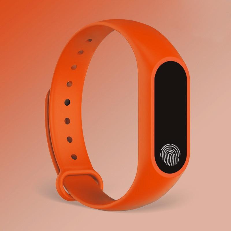 HTB1qLIde81D3KVjSZFyq6zuFpXaR M2 Sport Bracelet Smart Band Heart Rate Watch Men Women Smartwatch For Android IOS Fitness Tracker Electronics Smart Clock
