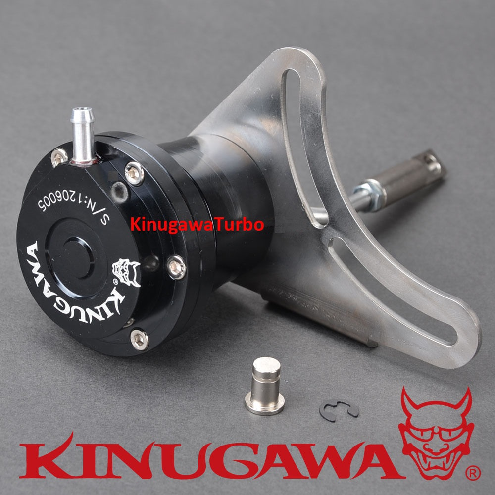 Kinugawa Adjustable Turbo Wastegate Actuator for IHI VF30 VF34 VF35 & for SUBARU STI RHF55 1.0 bar / 14.7 Psi