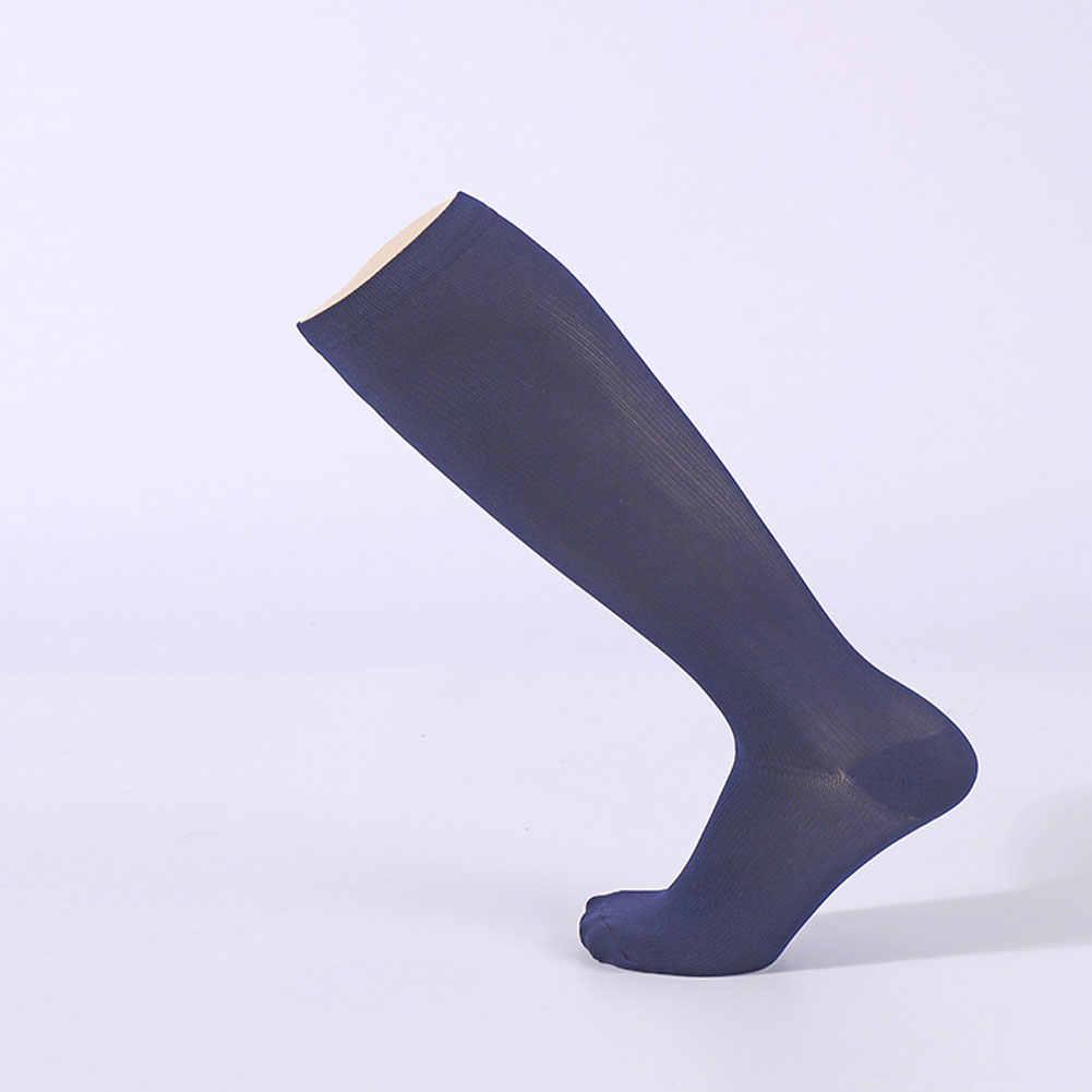 8f08635ebf 1 pair Antifatigue Unisex Compression Socks Flight Travel Anti-Fatigue Knee  High Stockings Anti Fatigue