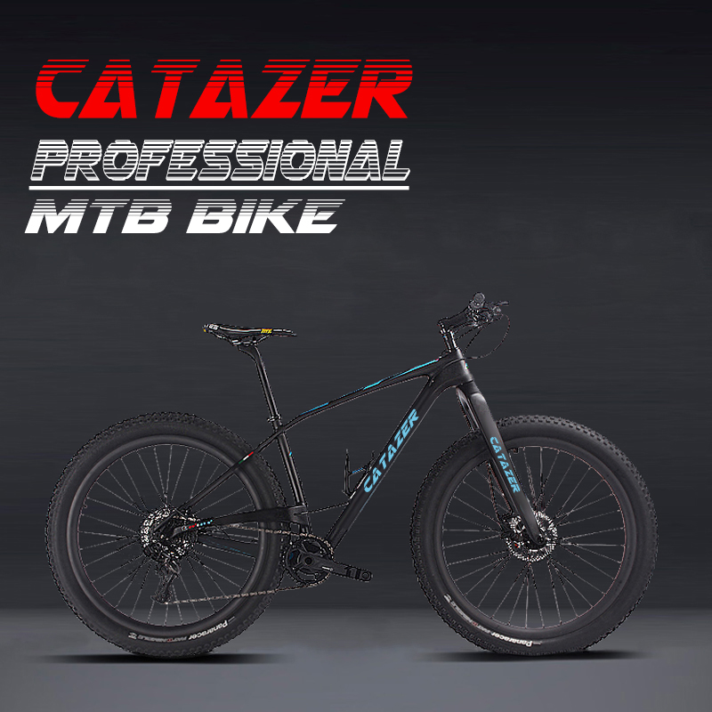 "HTB1qLJEafvsK1RjSspdq6AZepXa7 - Catazer Carbon Mountain Bike 17""/19""21"" Carbon Fiber Frame Bicycle 29er Wheel 20 Speeds Profession MTB Bicycle Disc Brake Bike"