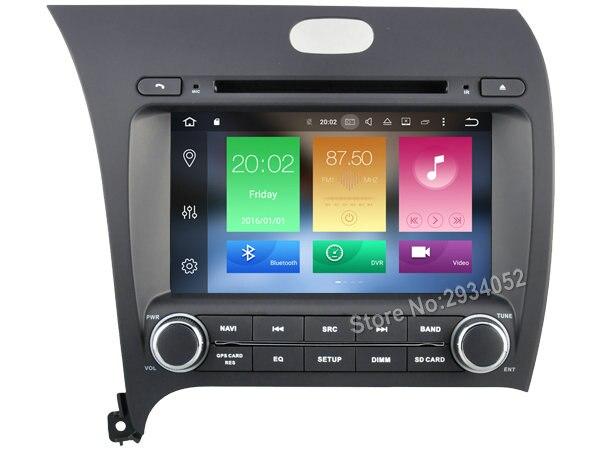 FOR KIA K3 FORTE CERATO 2013 Android 8 0 Car DVD player Octa Core 8Core 4G