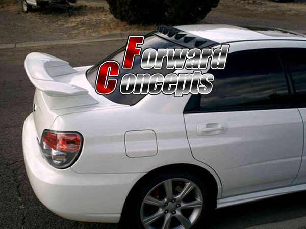 2002-2007 Subaru Impreza WRX//STI Style Rear UNPAINTED Trunk Spoiler Wing