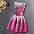 New Arrived High Quality Fashion Baby Girls Dress Children Clothes 2017 Sister Printed Baby Summer Dresses For Child