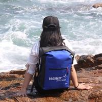 Backpack Bucket Dry Sack Storage Bag Unisex Rafting Sports Kayaking Canoeing Waterproof Bag 25L Outdoor Waterproof Swimming Bag
