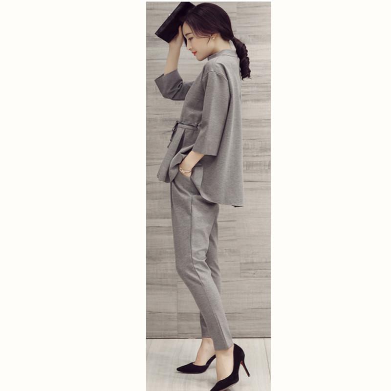 Ladies-Pant-Suits-2016-Spring-Autumn-O-Neck-Ruffles-Female-Business-Women-Evening-Suit-Elegant-Pants (6)