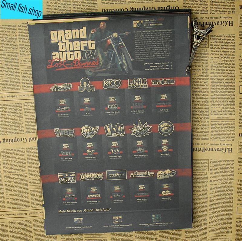 JL kraft cartaz parede 18