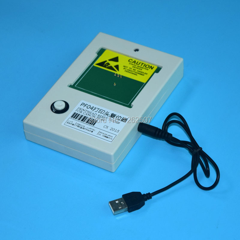 PF-04 printhead resetter for Canon printhead PF04 For Canon iPF650 iPF655 iPF750 iPF755 printer head reset