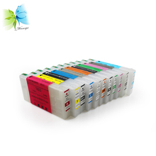 WINNERJET 300ml 11colors/lot Empty Refill Ink Cartridge With ARC Chip Compatible For Epson 4900 4910 Printer