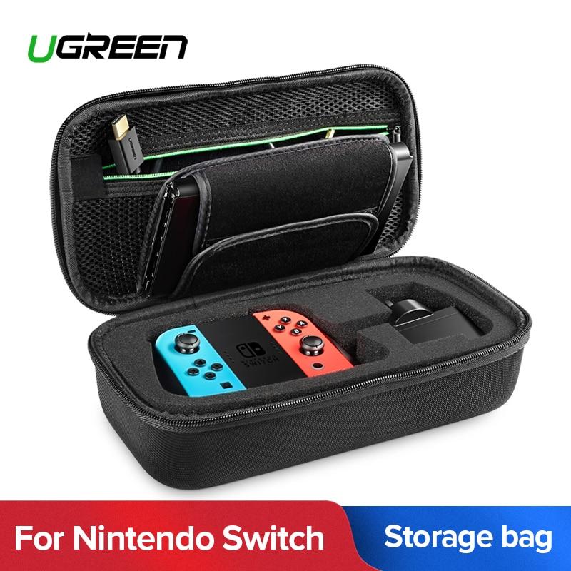 Ugreen sac de rangement pour Nintend Commutateur de Nintendo console Switch Cas Durable Nitendo Cas pour NS Nintendo Commutateur Accessoires