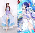 hot love live Sonoda Umi cosplay costume Lovely cos White Day clothing dress ACG557